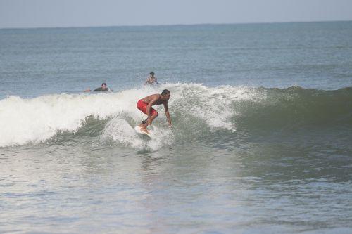 Surfing, Kegiatan Balawista Pangandaran Saat PPKM