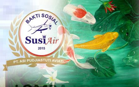 Susi Air Gelar Lomba Lukis berhadiah Jutaan Rupiah