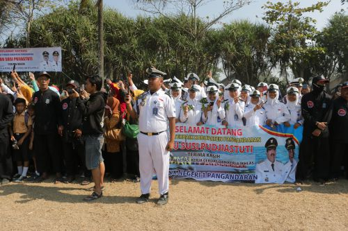 Susi Pujiastuti Pulang Kampung, Warga Pangandaran : Welcome Back