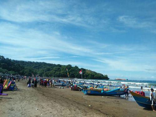 Tahun Baru 2018 Pantai Pangandaran Tidak Seramai Tahun-tahun Sebelumnya