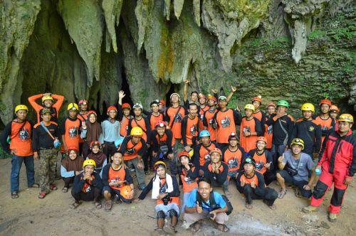 Telusur Goa dan Karst Kabupaten Pangandaran 2016 Berjalan Lancar
