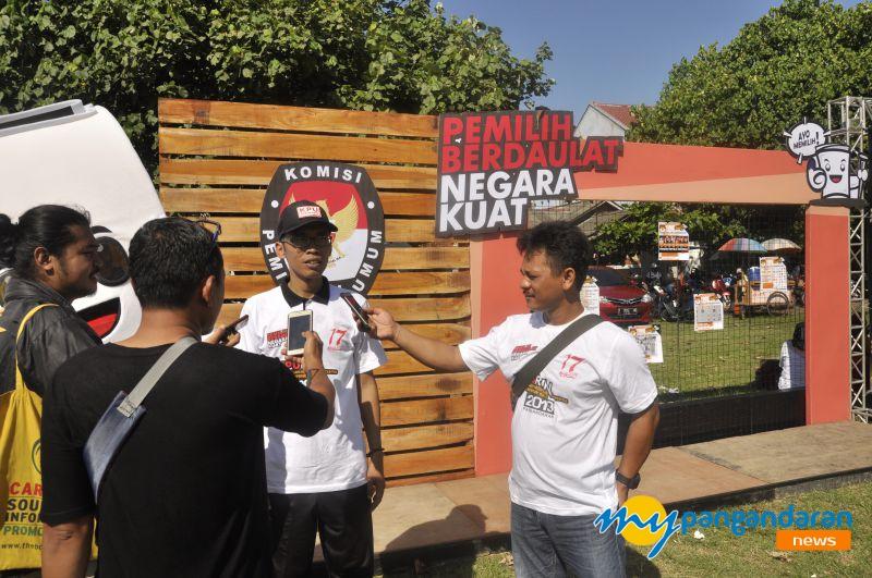 Tingkatkan Partisipasi Pemilih, KPU Pangandaran Gelar Pemilu Run