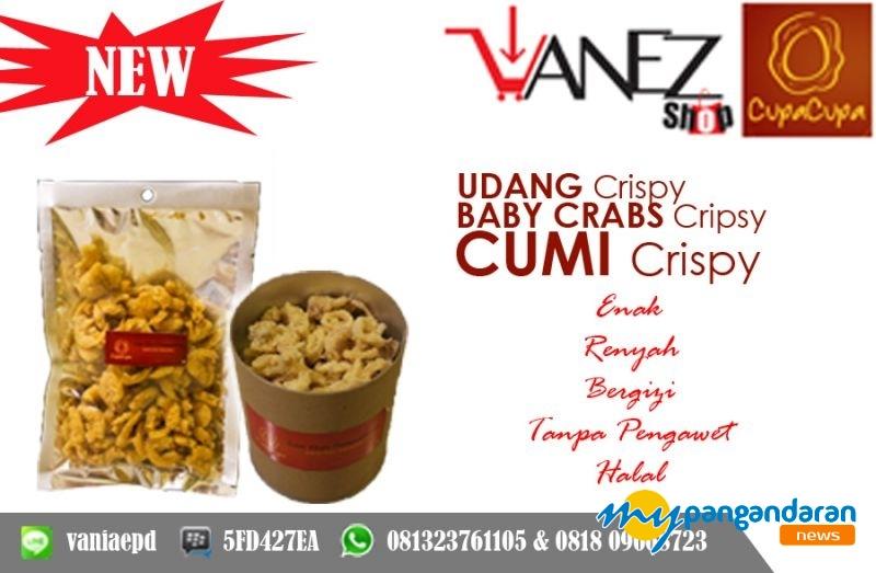 Vanezshop, Hadirkan Snack Khas Pangandaran, Bisa Dibeli Online