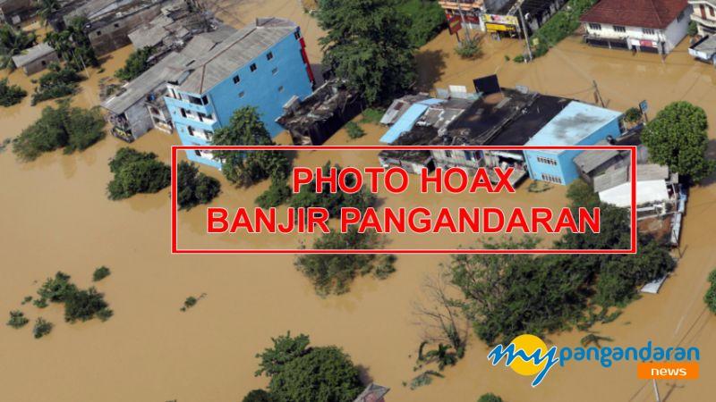 Viral Photo Hoax Warnai Banjir di Sejumlah Wilayah  di Pangandaran
