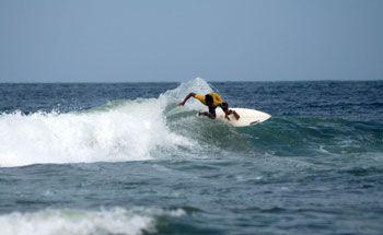 Volcom Surfing Contest Sesi Pertama Digelar di Pangandaran