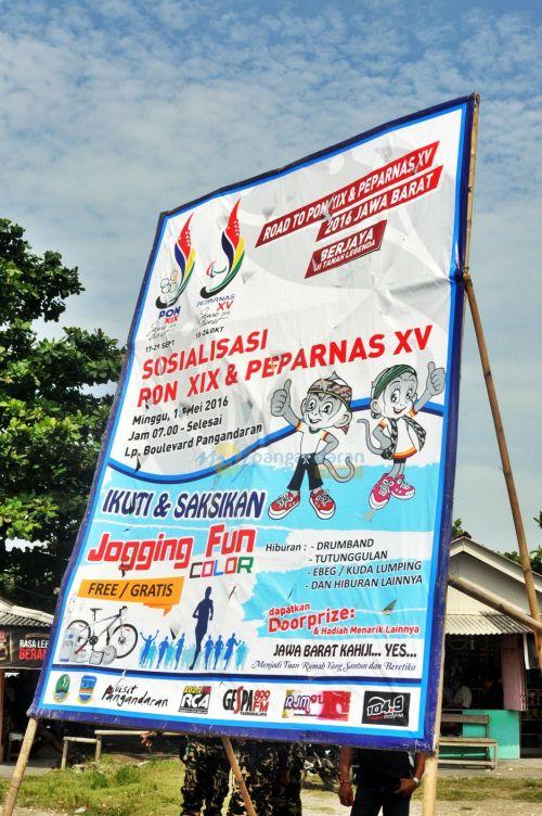 Wakil Gubernur Buka Sosialisai PON XIX & PEPARNAS XV di Pangandaran