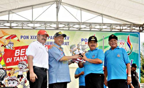 Wakil Gubernur Sosialisai PON XIX & PEPARNAS XV di Pangandaran