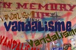 Warga Geram dengan Aksi Vandalisme
