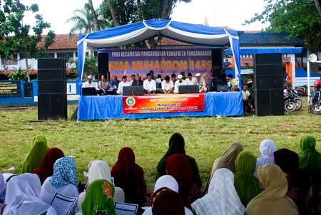 Warga Kabupaten Pangandaran Peringati 1 Muharrom