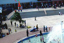 Waterpark Pangandaran Didemo Warga Ciputrapinggan