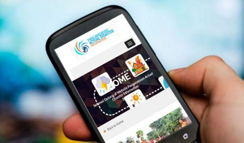 Website Pemda Kabupaten Pangandaran Hari Ini Tumbang