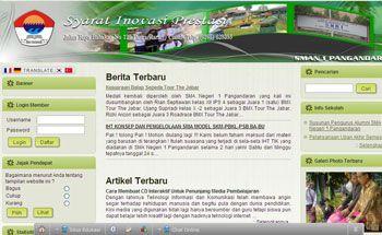 Website Sekolah di Pangandaran Masih Belum Optimal