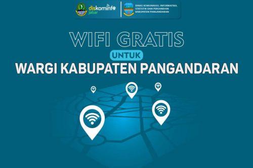 Wifi Gratis Untuk Warga Kabupaten Pangandaran